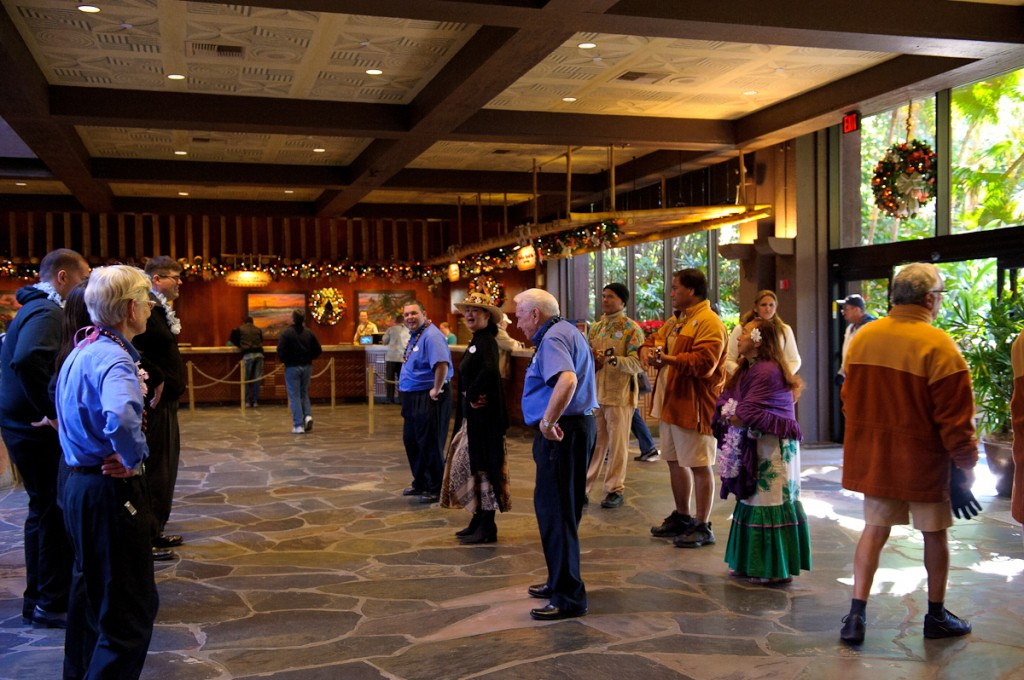 Hula Lessons at the Polynesian