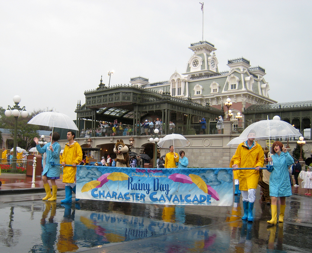 Rainy Day Character Cavalcade