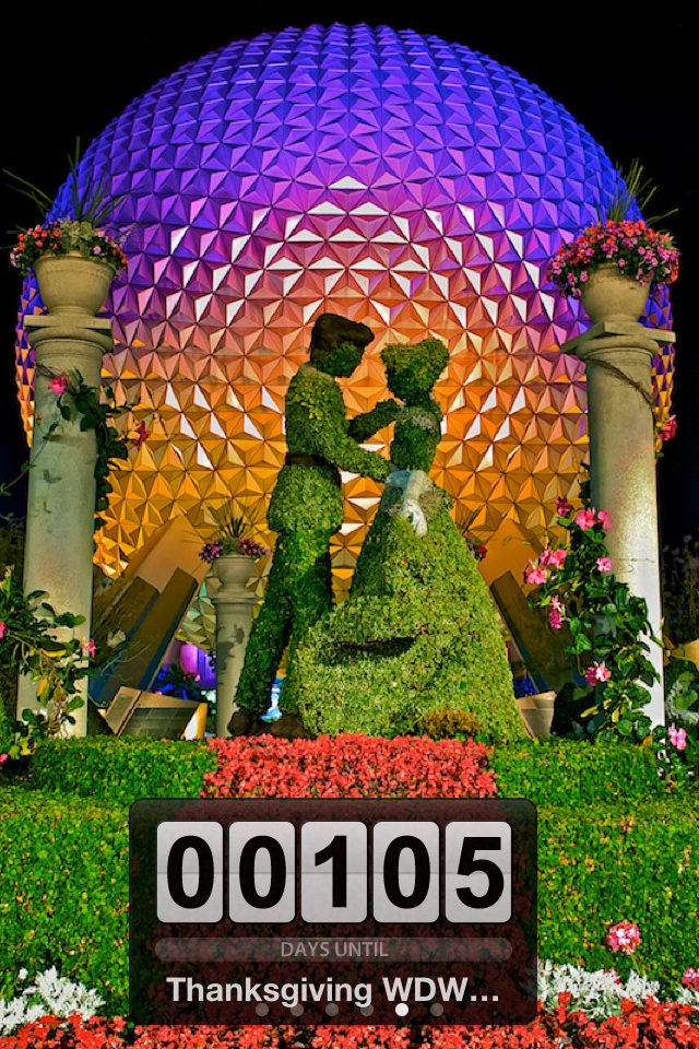 Walt Disney World Trip Countdown