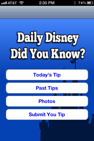Daily Disney Did You Know