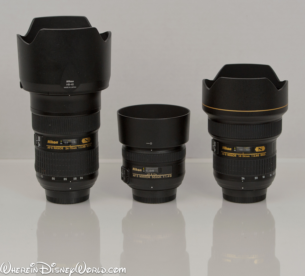 Lenses for WDW