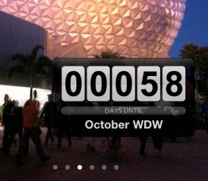 WDW Trip Countdown