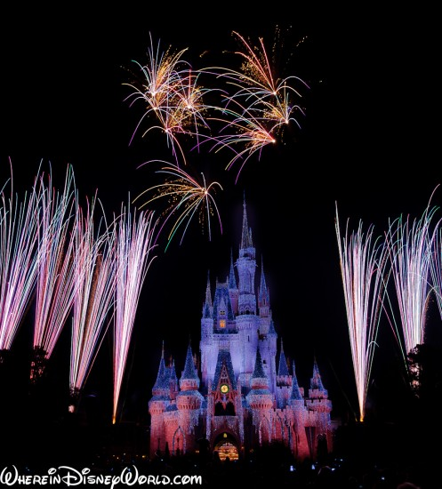 WDW Fireworks Photography